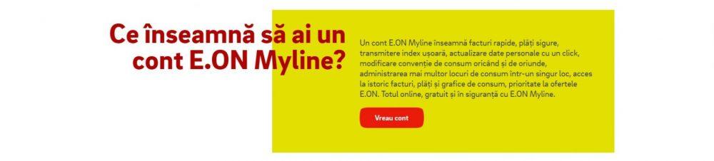 Ce inseamna sa ai un cont E.On Myline