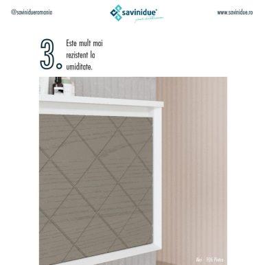 Cinci lucruri despre mobilierul infoliat cu PVC Savini Due 3