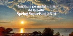 Ganduri pe malul marii de la Gala Spring SuperBlog 2021