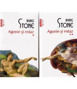 Agonie si extaz. Vol.1+2 - Irving Stone