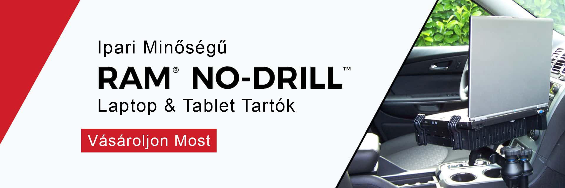 RAM® NO-DRILL™ Laptop & Tablet Megoldások