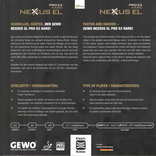 Gewo-Nexxus-EL-Pro-53-Hard