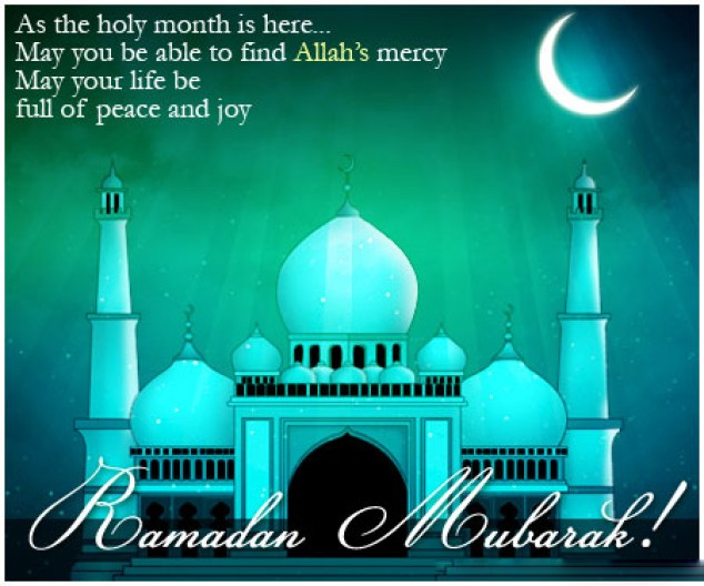 Ramadan Greetings in English 2019