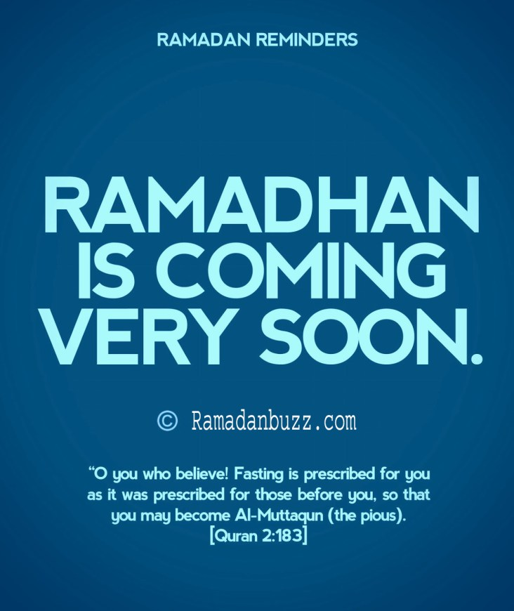 Ramadan Greetings in English