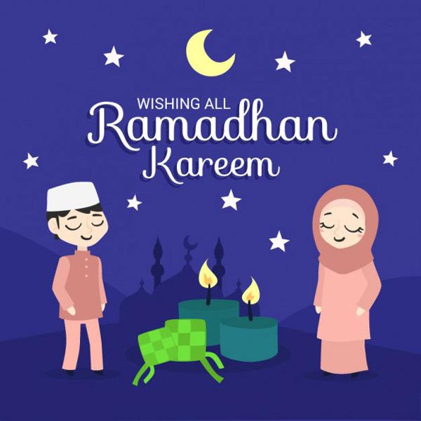 lovely ramadan kareem cards