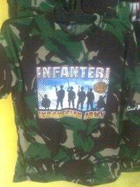 Kaos Loreng Infanteri
