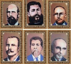 portraits of Nicaraguan alcaldes
