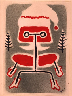 Xmas card sent by Bob Wirth