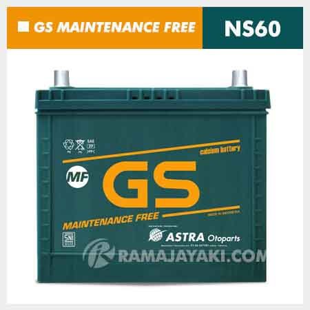 Aki GS MF NS60