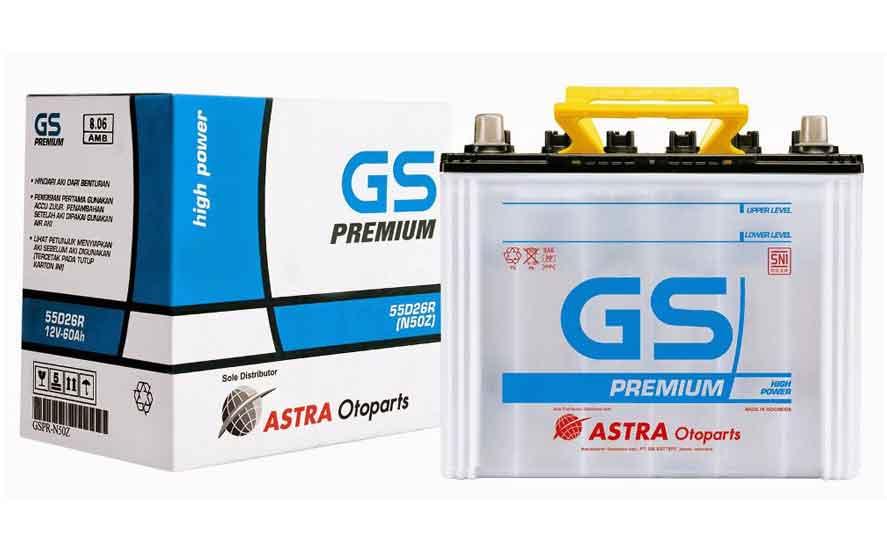 Harga Aki GS Premium