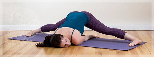 yoga exercises for the inner surface of the thigh