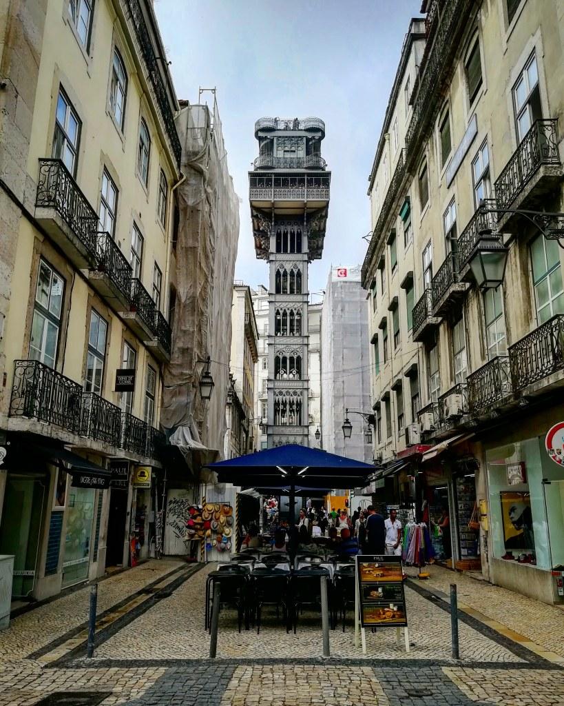 Elevador de Santa Justa -  Lisboa