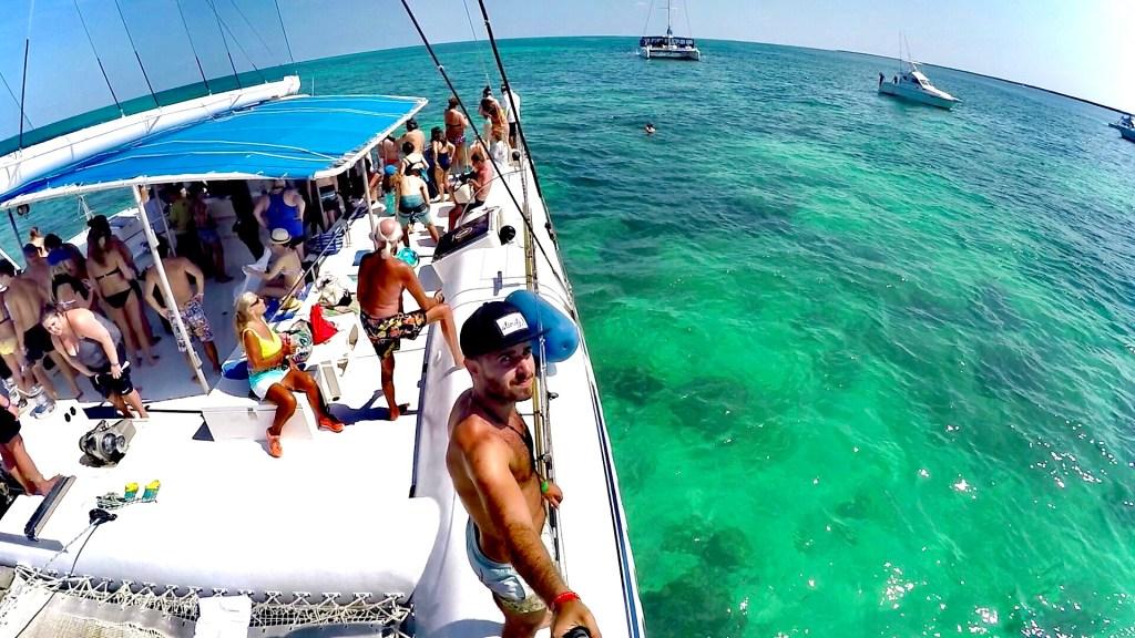 Catamarán a Cayo Blanco - lugares para ver en Cuba
