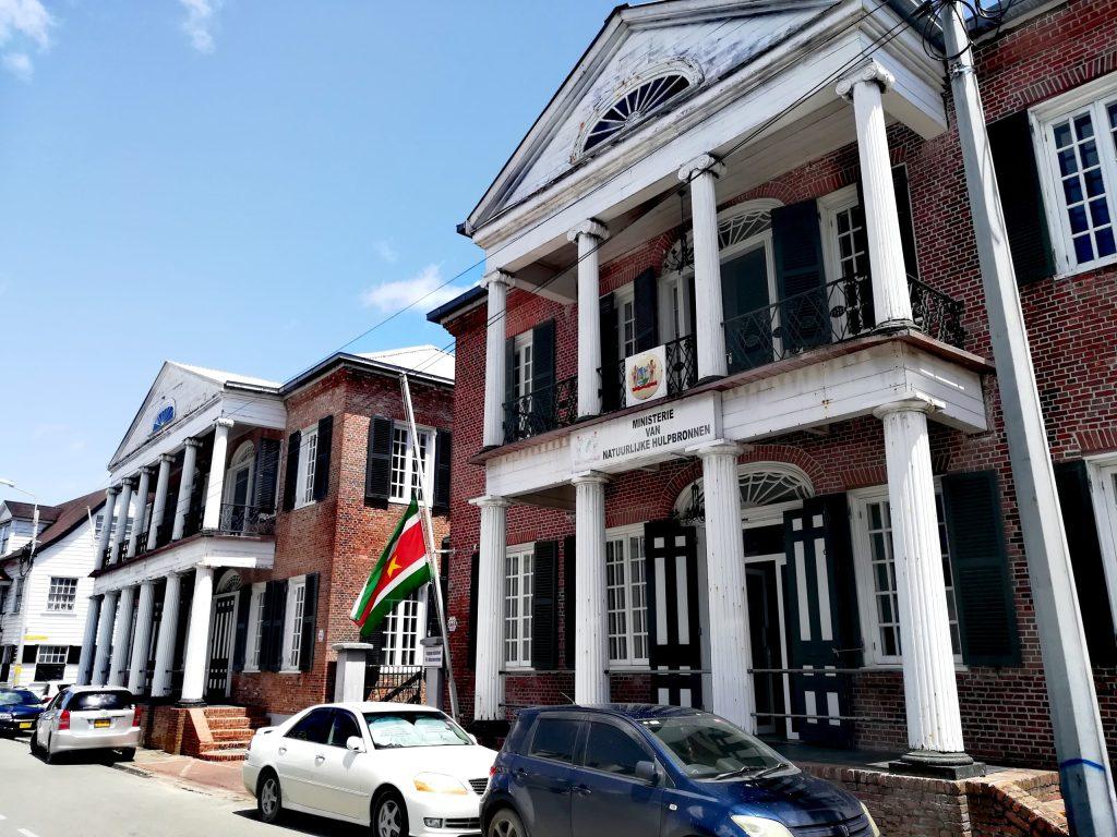 Las calles de Paramaribo