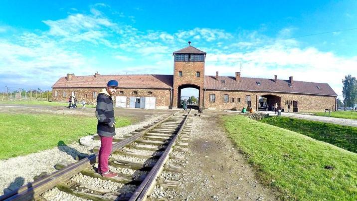 """Estación de """"Auschwitz"""""""