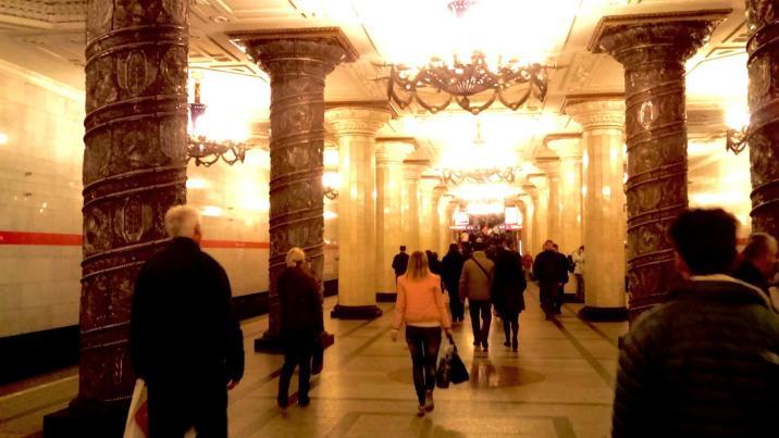 Estaciones de subte de San Petersburgo