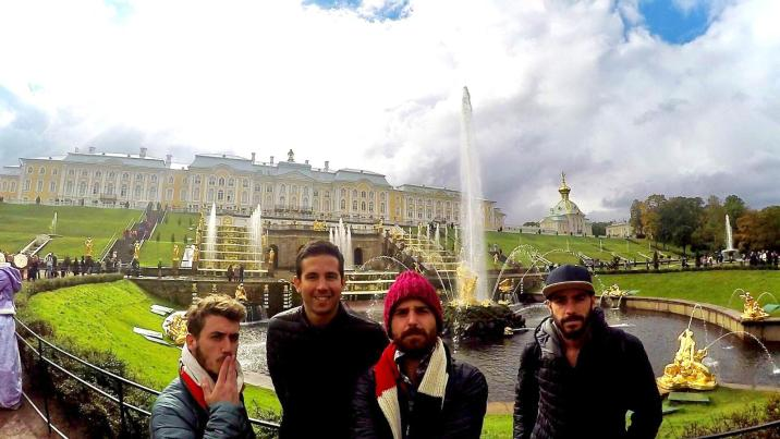 Palacio de Peterhof - San Petersburgo