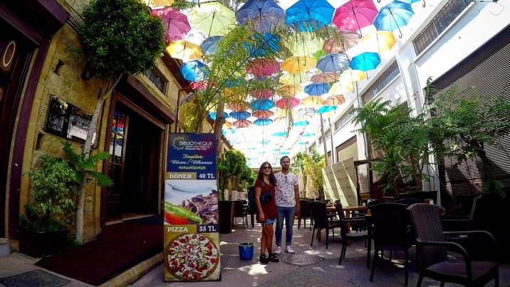 Calle de los Paraguas de Nicosia