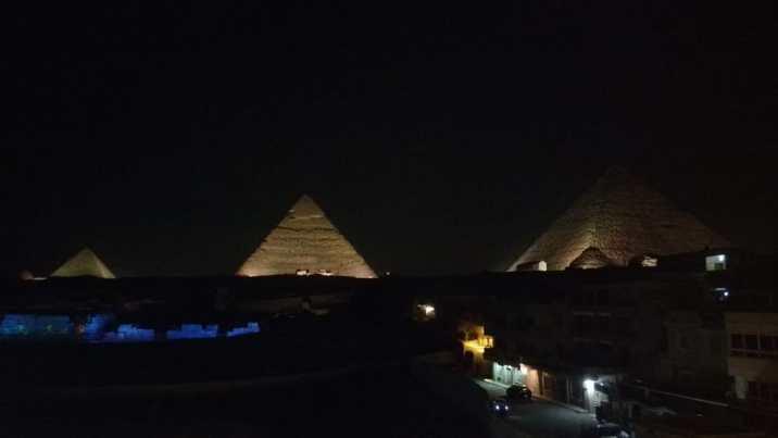Show de luces y sonido - Pirámides de Egipto