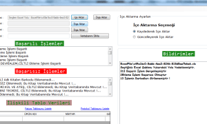 C # Excel import and export (Access Database)