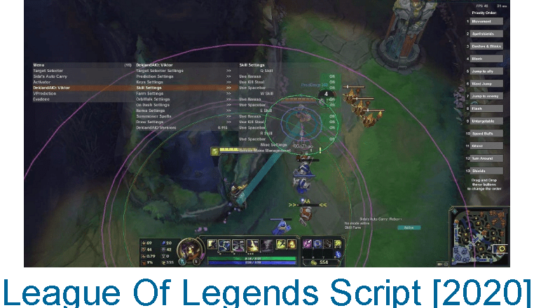 League Of Legends Script [10.8] LazySharp | April 2020