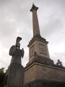 This monument houses the body of General Isaac Brock, who died defending Queenston Heights from the Americans in the War of 1812.