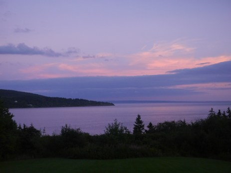 We were treated to some lovely sunsets in Iona.