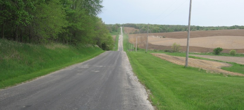 2014 Illinois – Day 4 – Kewanee to Muscatine, IA: Lost in Mercer County