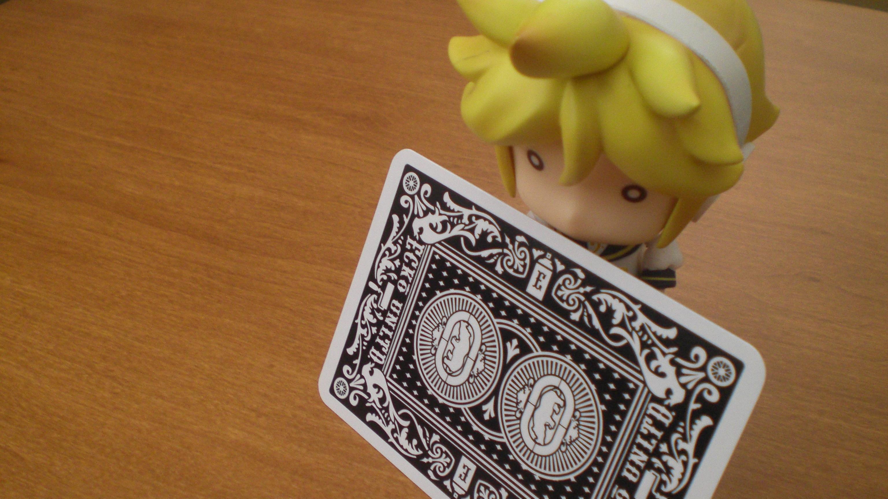 om nom nom ; Ecko cards are bite size.