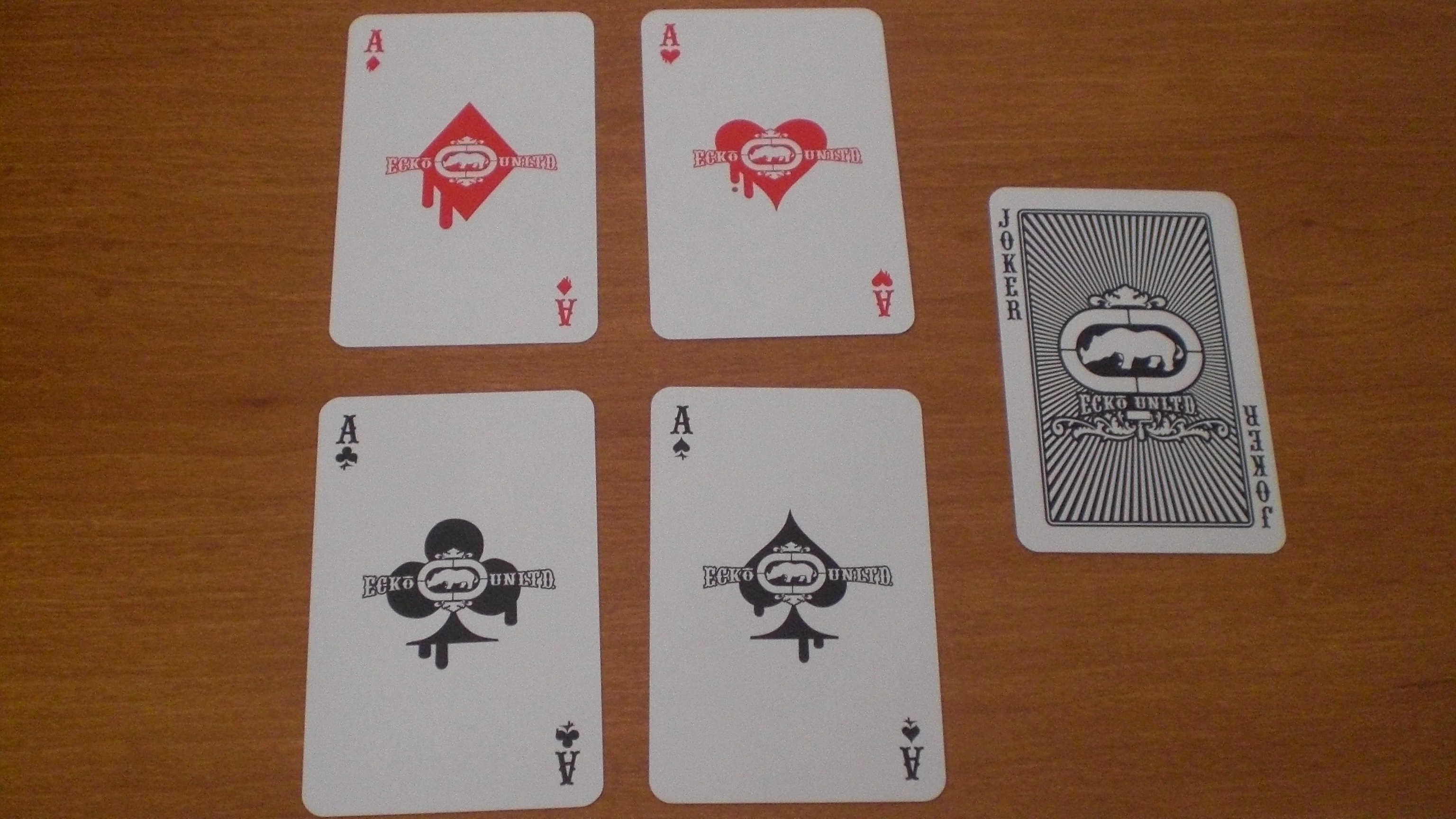 Ecko : Marketing is putting your logo on all the aces and joker.