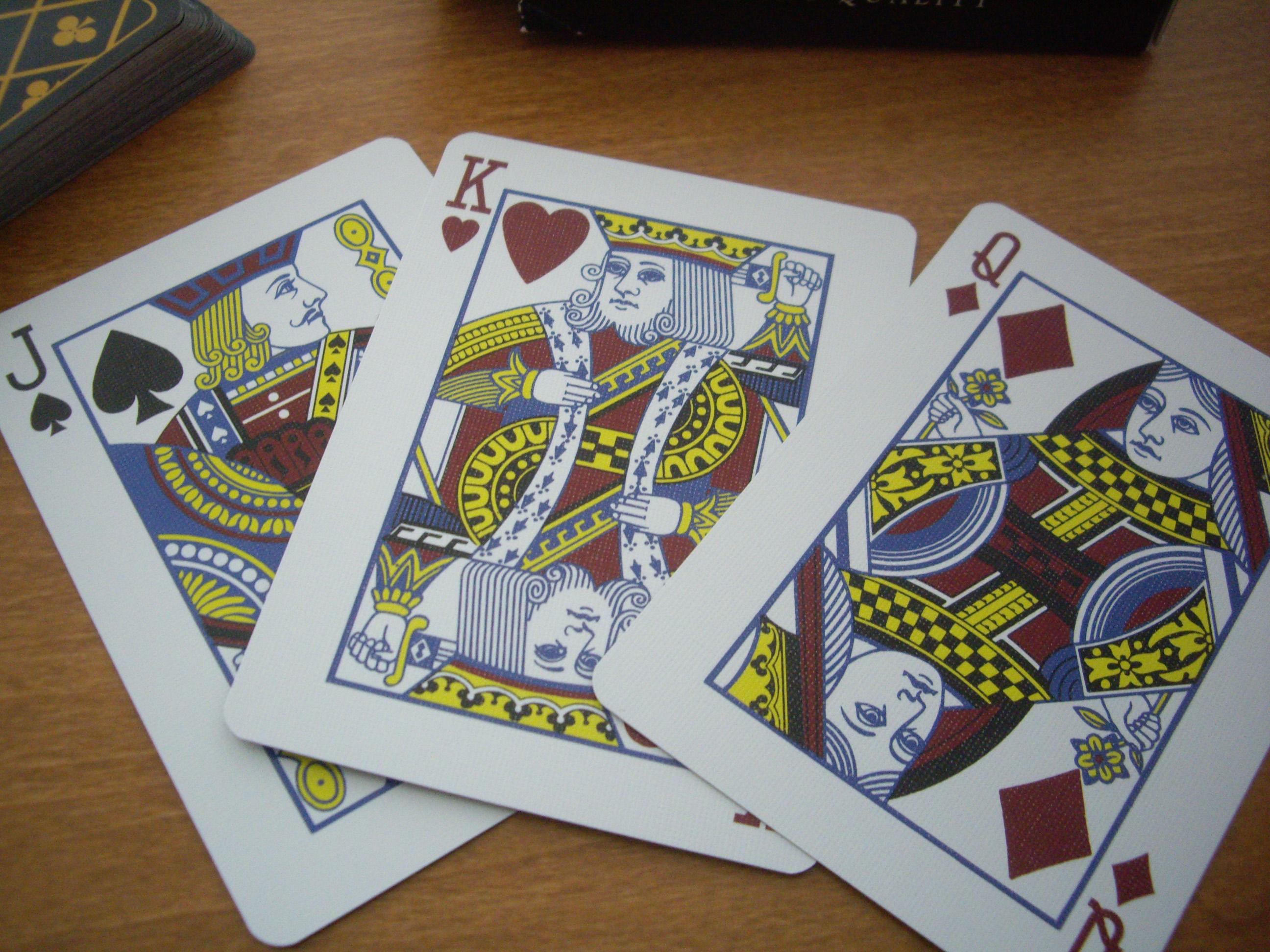 Massa : Court cards