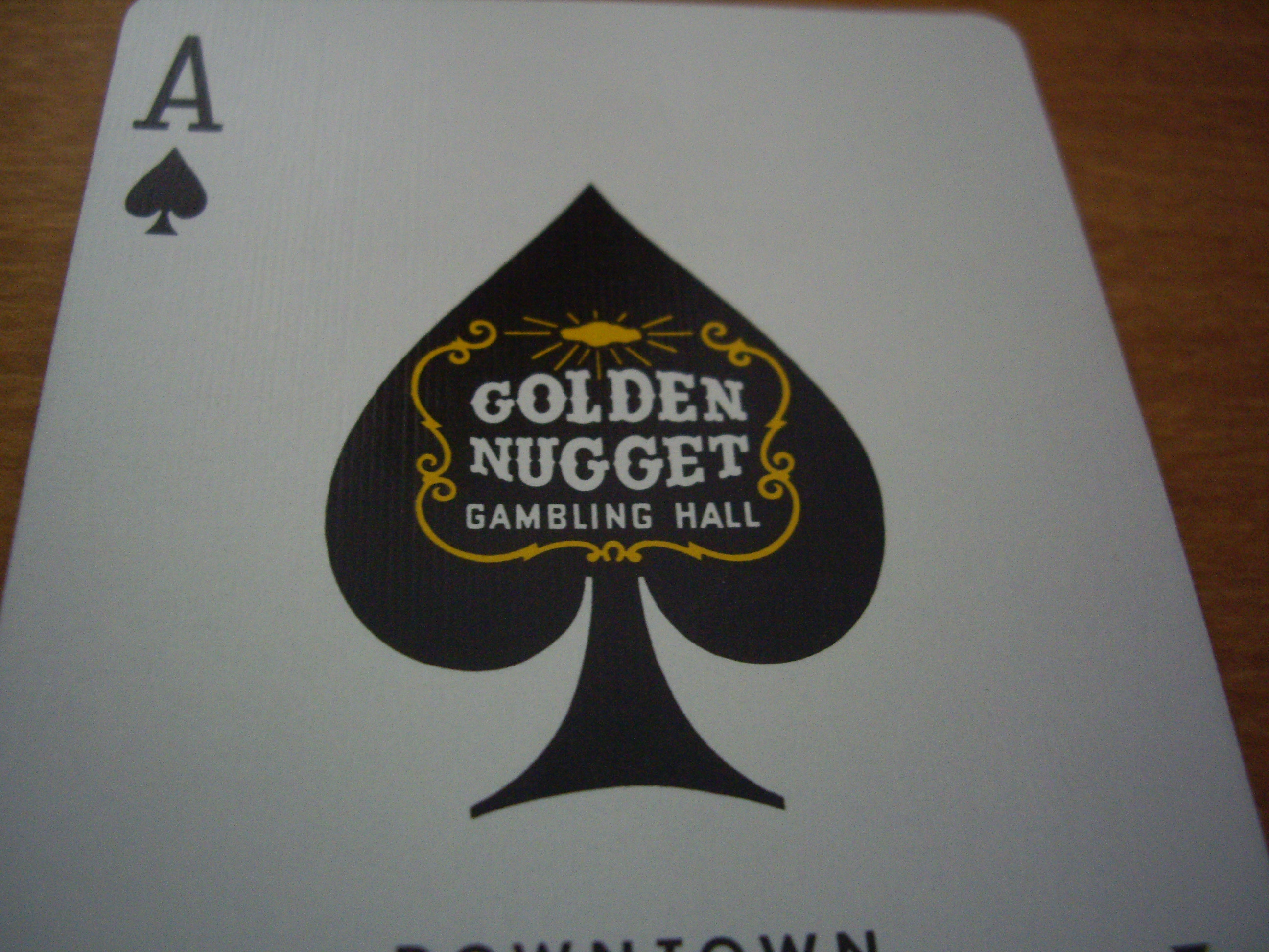 Golden Nugget : What Ace of Spades should be more like.
