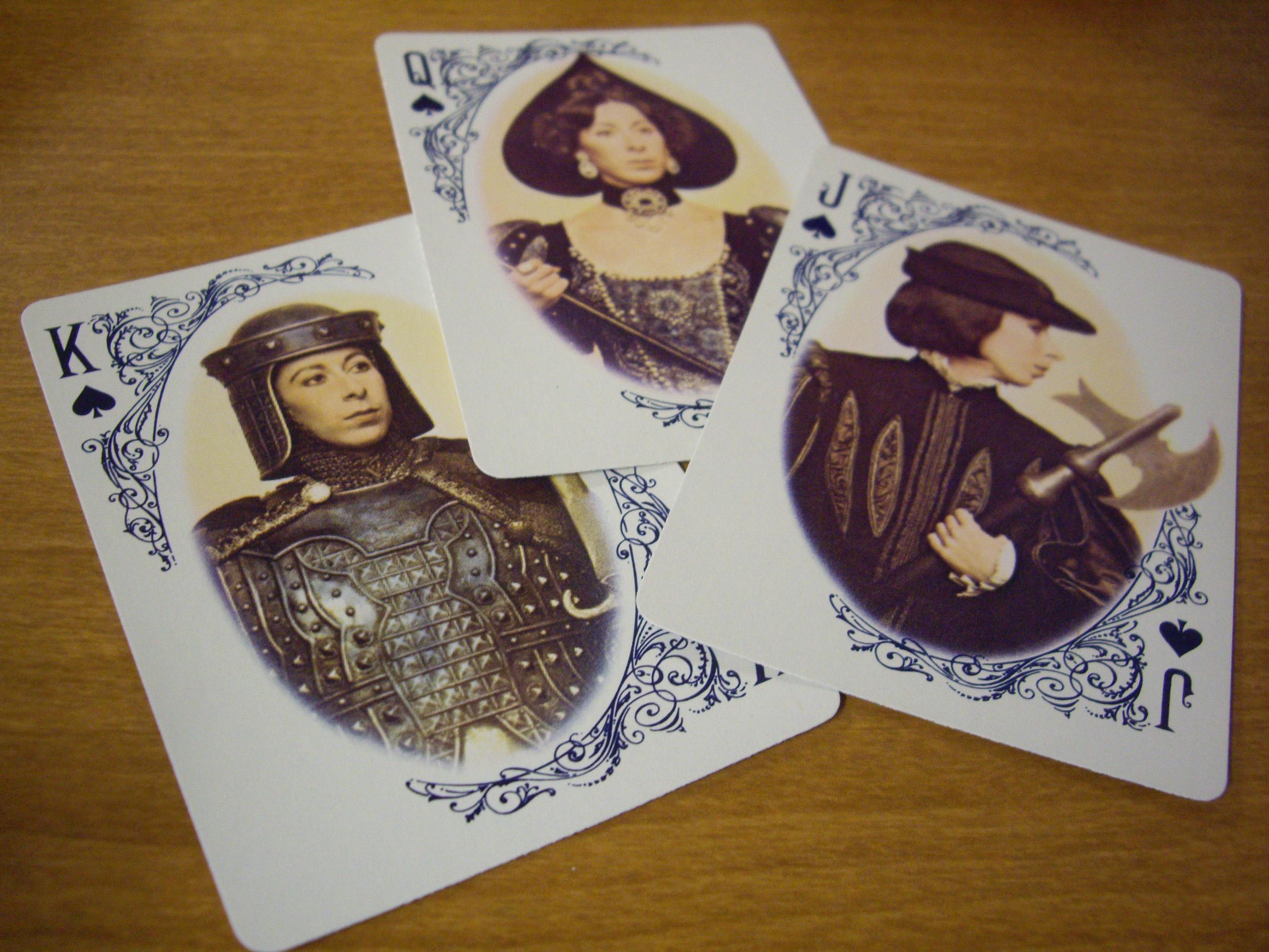 Virginia Slims : Court cards