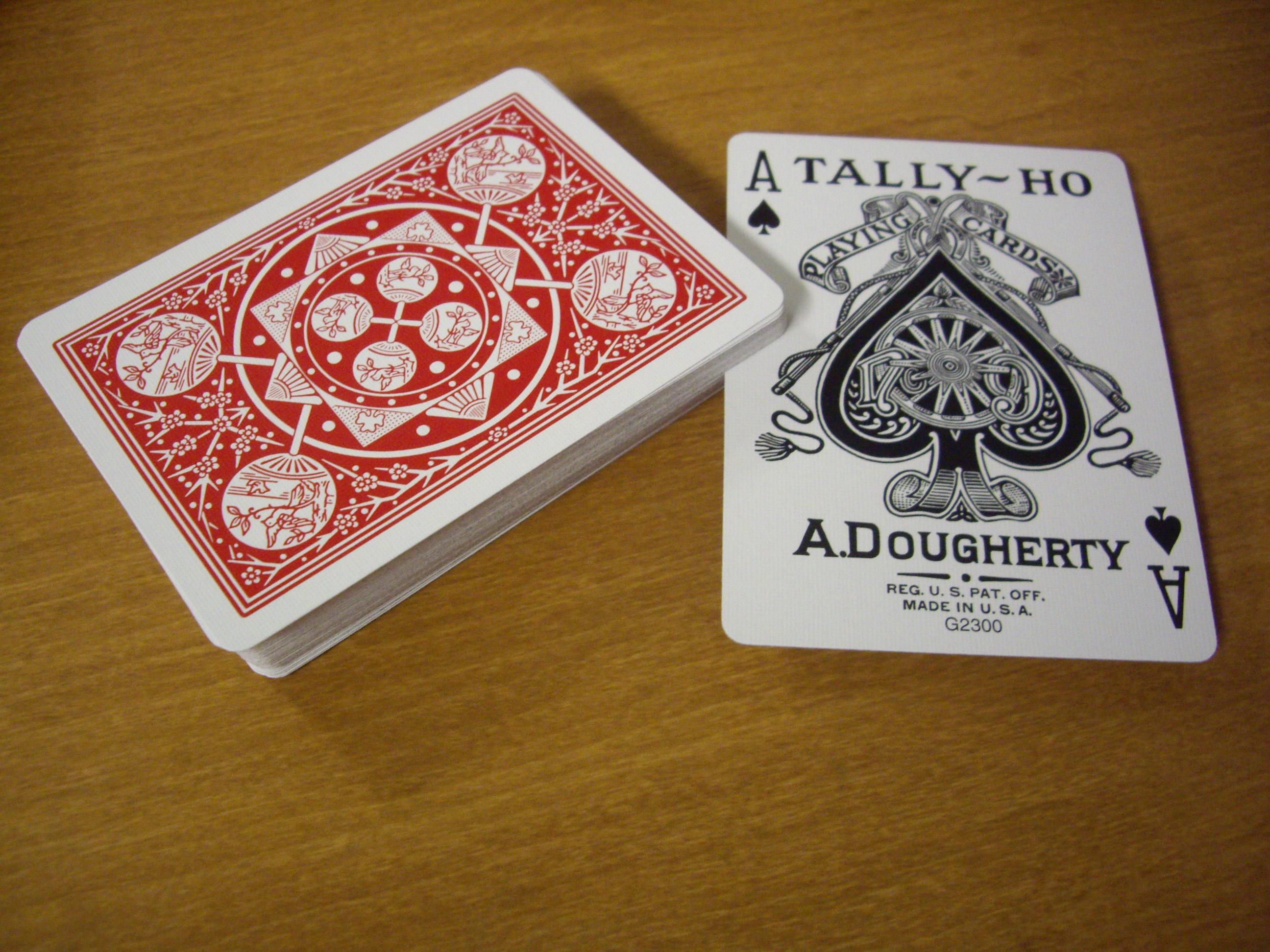 Tally Fan : Ace of Spades. Is. Bold.