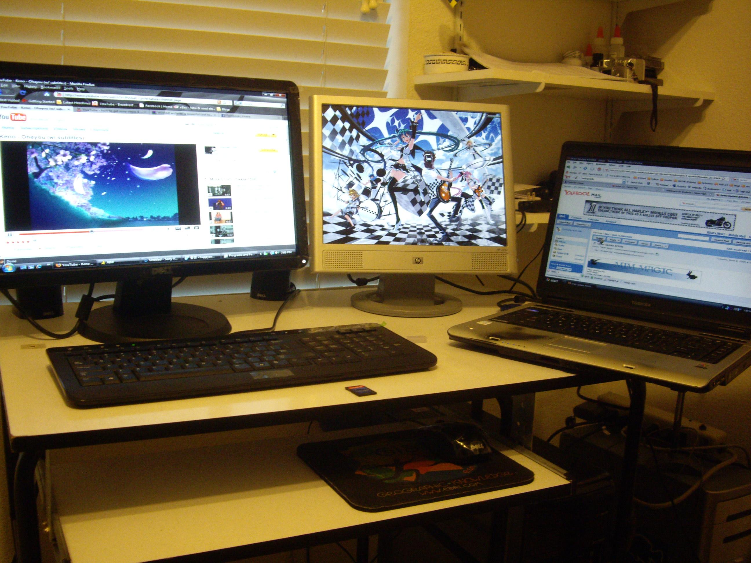 My summer workstation.