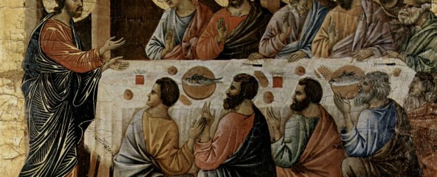 Last Supper Duccio di Buoninsegna