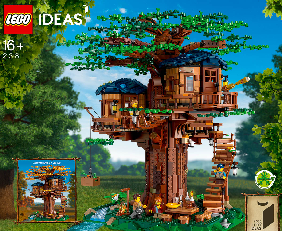 Lego Ideas Tree House 21318 Announced The Rambling Brick