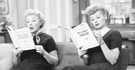 Lucy Hosts a Book Club