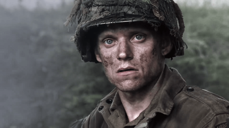 Private Blithe in Band of Brothers