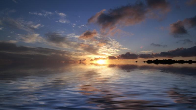 Sometimes He Calms the Sea
