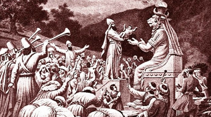 Molech child sacrifice