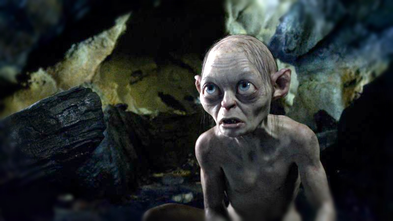 "Gollum Cries Discrimination After Being Portrayed by ""Nasty"" Human Actor in ""The Lord of the Rings"" Films"