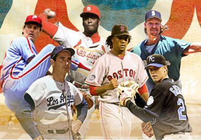The Five Best Starting Pitchers I've Ever Seen