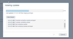 VCSA-Upgrade-Installing