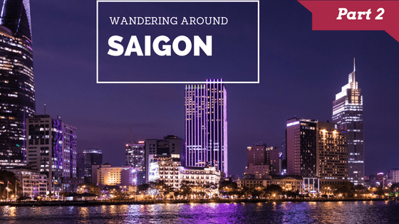 Wandering around Saigon Part 2 logo