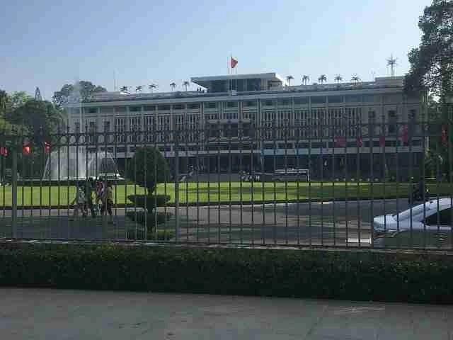 independence palace saigon