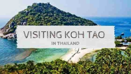 Visiting Koh Tao in Thailand