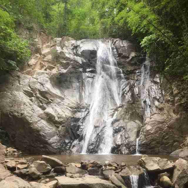 Huang Satan Waterfall Chiang Mai