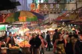 Temple St Hong Kong Market