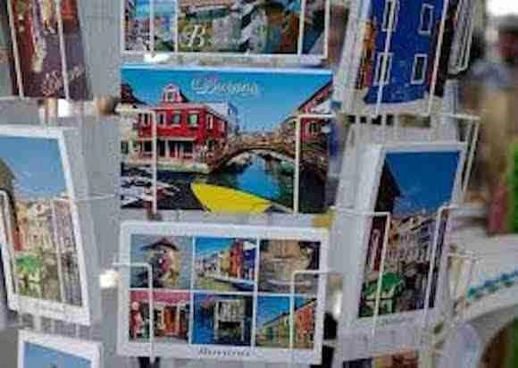 Postcards for your travel journal